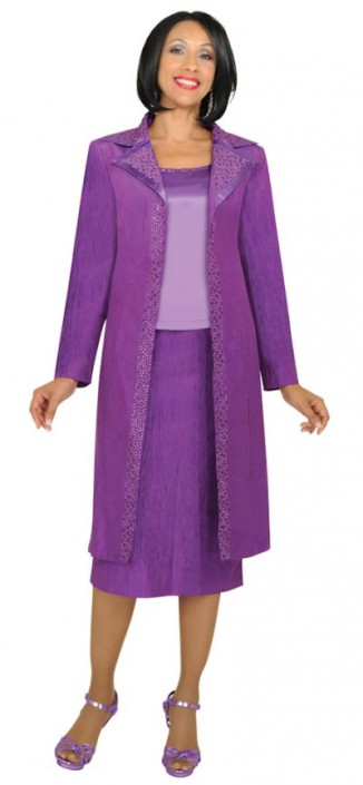 Gmi G3923 Womens Church Suit With Long Jacket French Novelty
