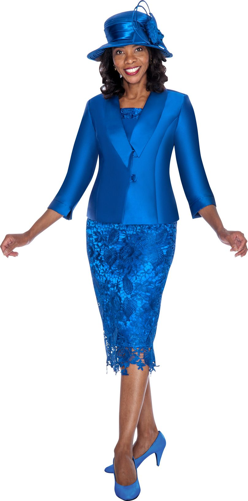 Gmi G5582 Womens High Low Church Suit French Novelty