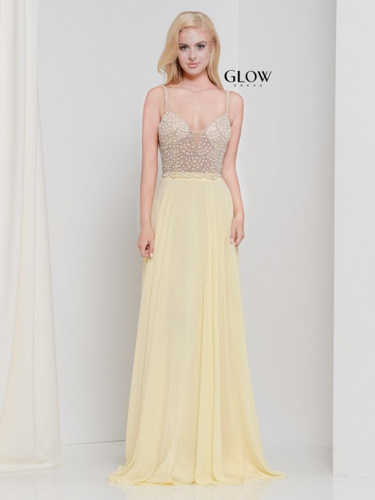 cdd2651627 Glow by Colors G848 Amazing Prom Dress  French Novelty