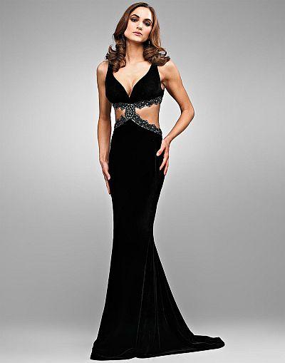 Velvet Pageant Dress