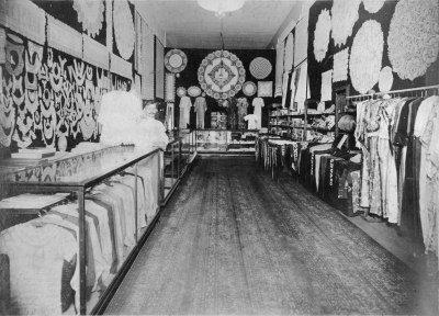 Inside of early store - circa 1920 in Jacksonville, FL