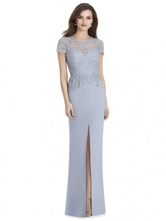 Jenny Packham Jp1012 Lace Top Bridesmaid Dress