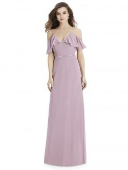 273ed3a13df Jenny Packham JP1016 Cold Shoulder Bridesmaid Dress