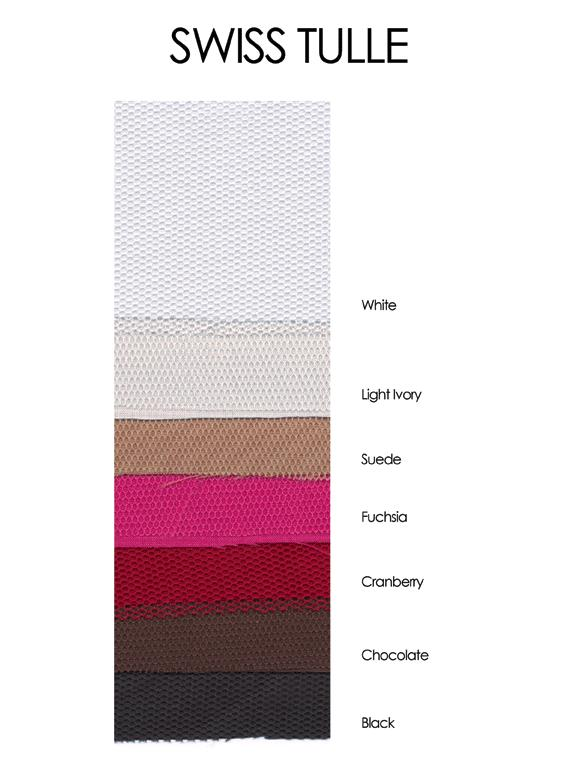 Swiss Tulle Color Chart French Novelty