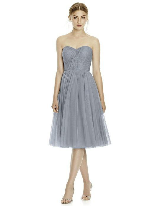 Jenny Yoo Jy535 Lace And Tulle Short Bridesmaid Dress