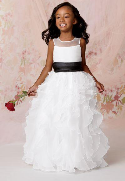 dd7df67502 Sweet Beginnings L286 Flower Girls Ruffle Dress  French Novelty
