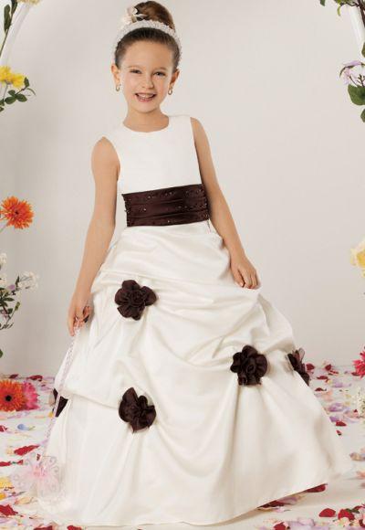 Jordan Sweet Beginnings Flower Girl Dress with Flowers L310 ...