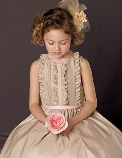 Jordan Sweet Beginnings Long Flower Girl Dress with Ruffles L556 ...