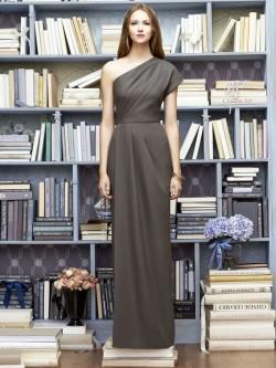 3e3d7b15c27 Lela Rose LR217 Draped One Shoulder Bridesmaid Gown