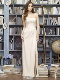 ed85c8420a3 Lela Rose LR221 Strapless Crepe Bridesmaid Gown
