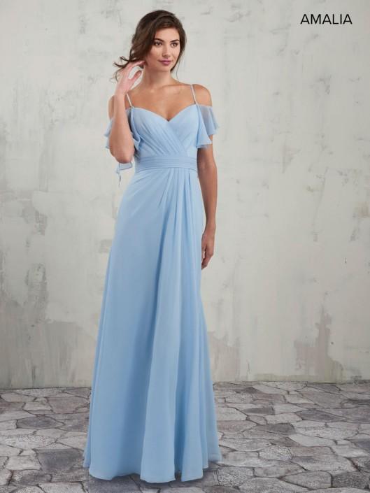 Amalia By Marys Mb7010 Off Shoulder Bridesmaid Dress