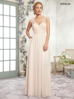 09f3128ca3dc Marys Amalia MB7019 Sequin Lace and Chiffon Bridesmaid Dress