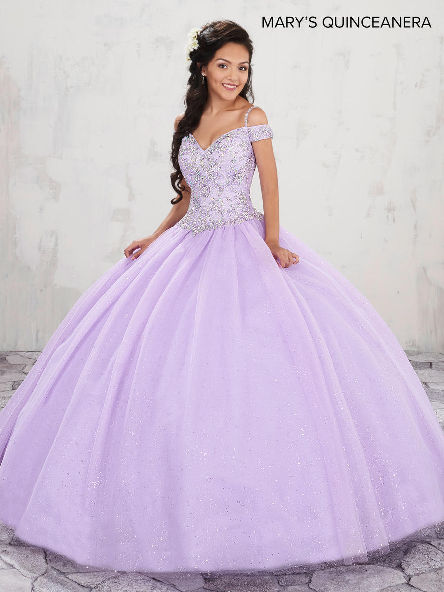 Marys Mq1001 Cold Shoulder Quinceanera Dress French Novelty