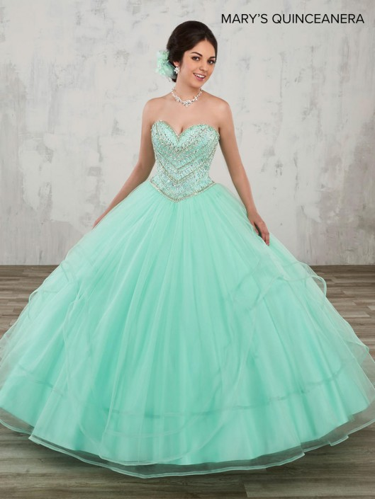 140d1e36c60 Marys MQ1003 Layered Quinceanera Dress  French Novelty