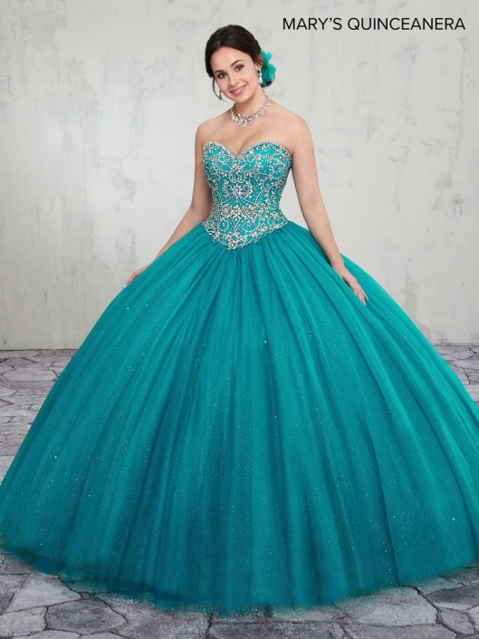 1356f20945f Marys MQ1014 Sparkling Tulle Quinceanera Dress  French Novelty