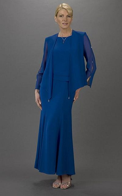 Pee Mother Of The Bride Dresses Ursula Long Jacket Dress 53060