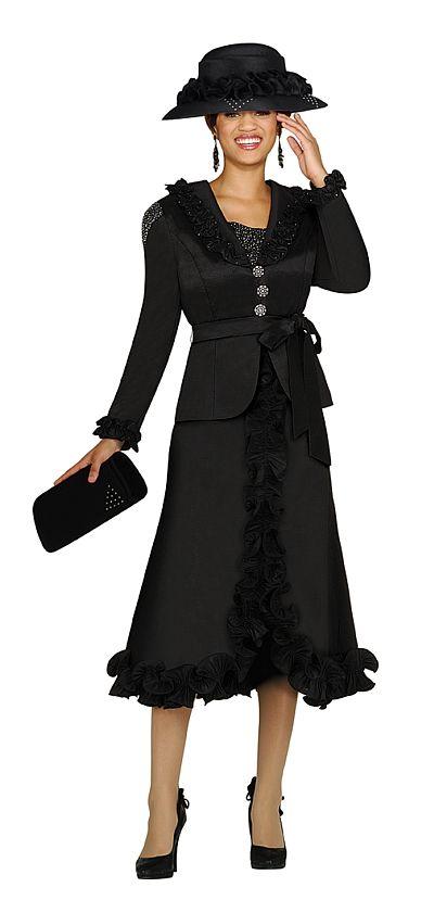 Nubiano Womens Stretch Taffeta Church Suit N96732: French ...