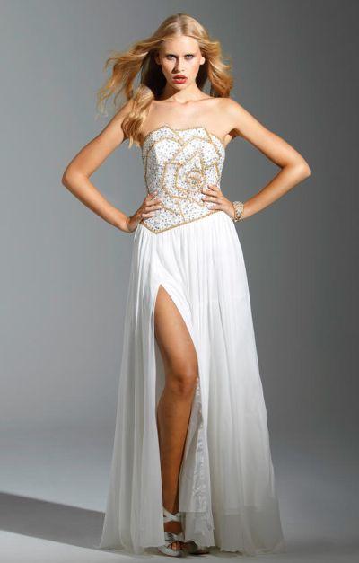 Terani P1505 Rose Inspired Motif Formal Dress