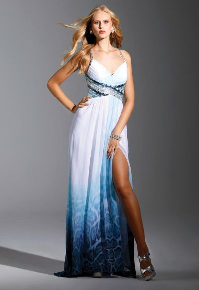 Terani P1566 Celestial Prom Gown With Animal Print French