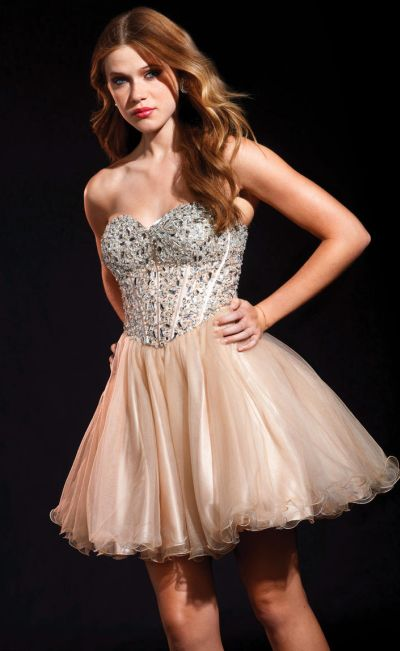 a38b3d53a8 Terani P1593 Flirty Short Princess Party Dress with Layers of Tulle  French  Novelty