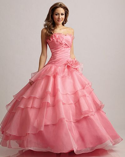 Allure Bridals Quinceanera Prom Dress Q301: French Novelty