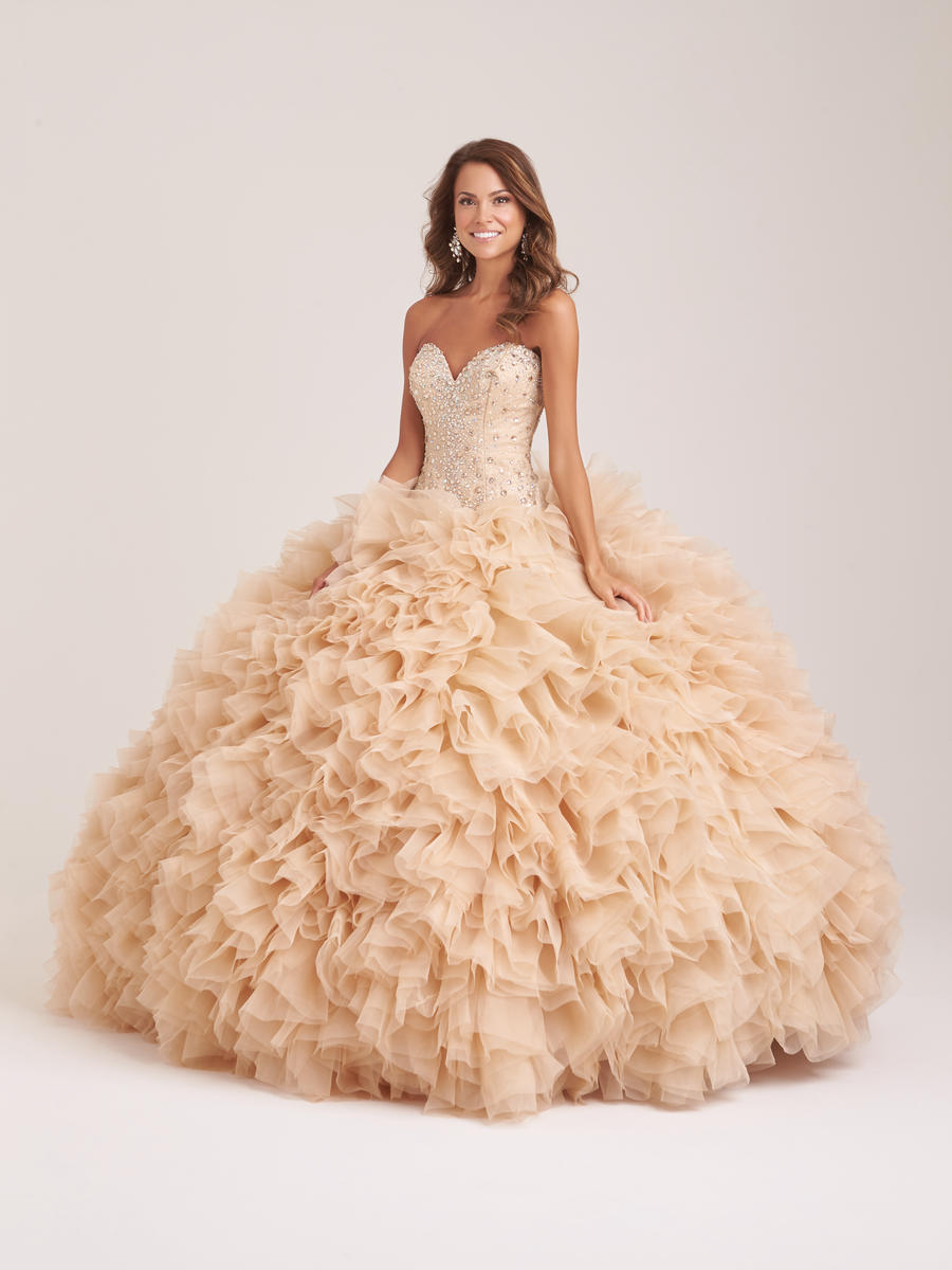 Allure Quinceanera Q501 Princess Ball Gown: French Novelty