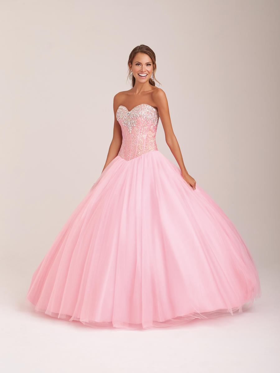 Allure Quinceanera Q507 Fairytale Ball Gown: French Novelty