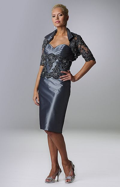 Mother of the Bride Jacket Dress
