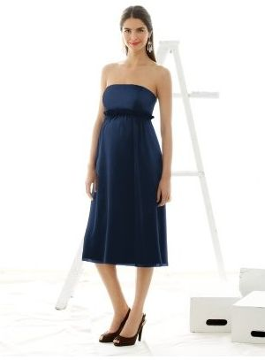 3c1dc42ab Maternity Bridesmaid Dress M415 by Dessy Alfred Sung: French Novelty