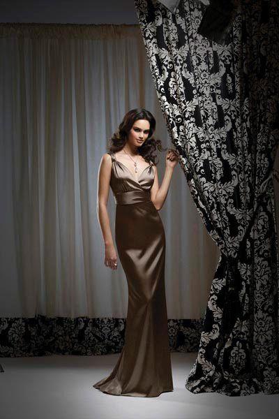 3cf69773bd2 Dessy Bridesmaid Dresses Long V Neck Bridesmaid Dress 2743  French Novelty