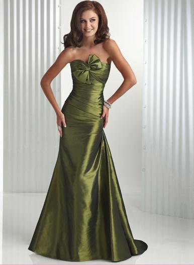 Flirt Flirty Bow Ruched Bodice Mermaid Prom Dress P1445 image