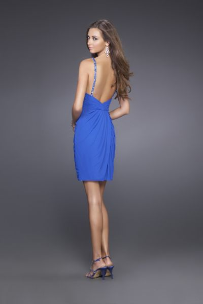 Electric Blue Party Dress 74570 | RIMEDIA