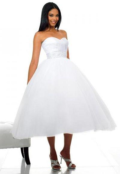 74ebe210e886f Moonlight Tango Informally Yours Waltz Length Debutante Dress DB1553:  French Novelty