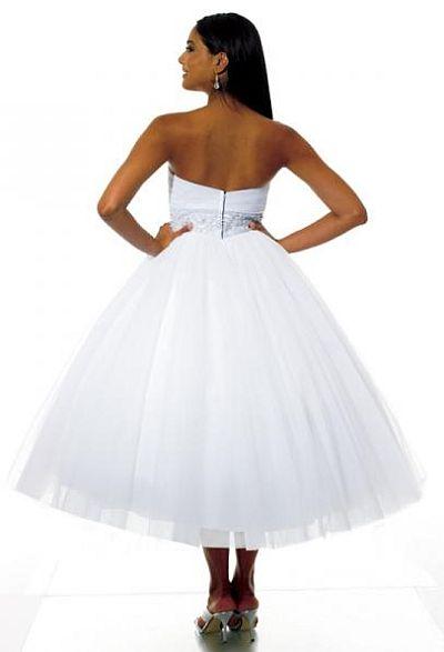b9137df7ed11b Moonlight Tango Informally Yours Waltz Length Debutante Dress DB1553 ...