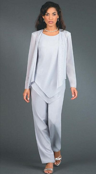 ursula plus size wedding mother dressy pant suit 41114