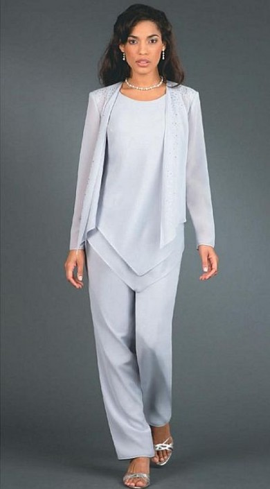 Ursula Wedding Mother Dressy Pant Suit 11114