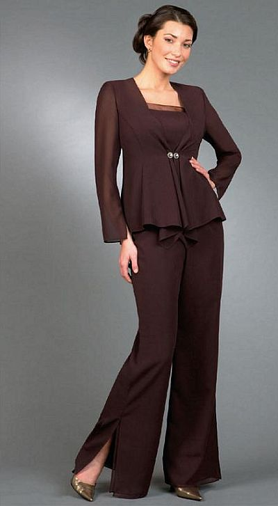 Ursula Plus Size Mother Of The Bride Pant Suit 43999 French Novelty