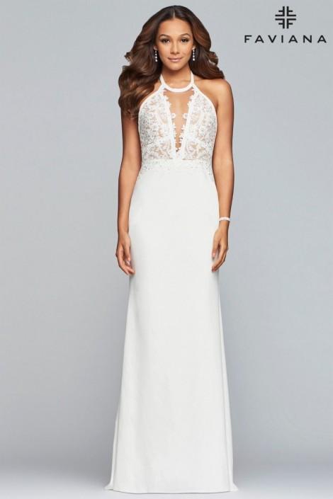 See through Prom Dresses