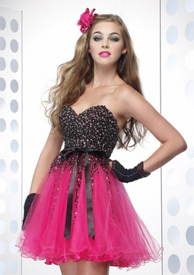 Alyce Designs Cocktail Sequin Tulle Prom Party Dress 4130: French ...