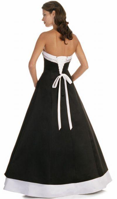 Alexia Designs Two Tone Bridesmaid Dress With Corset Tie