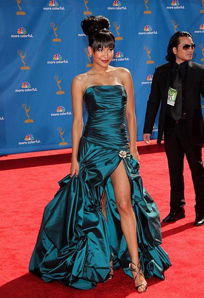 Celebrity Inspired Faviana Taffeta Prom Dress 6791: French Novelty