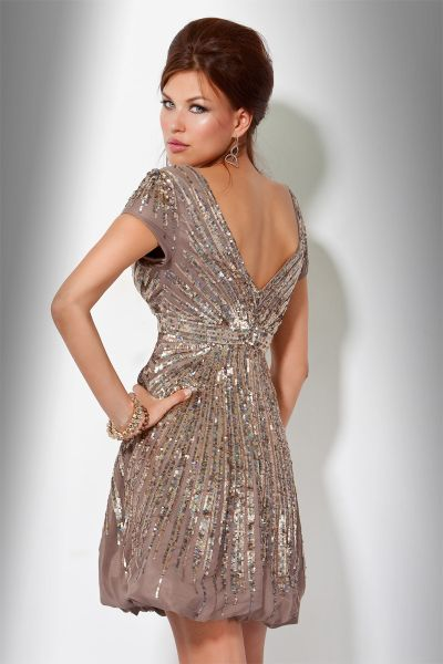 Sequins Cocktail Dresses