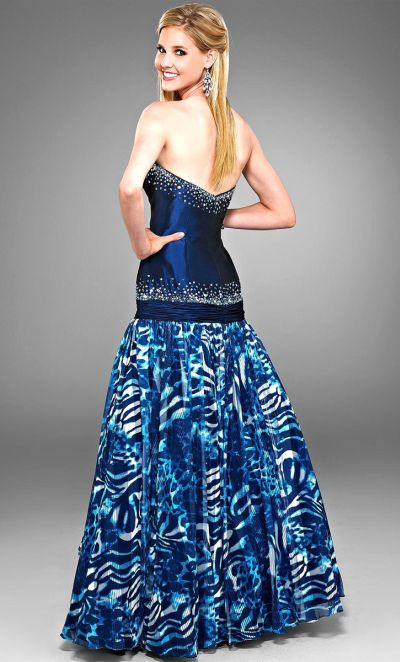 Zebra Print Prom Dresses 2016 52