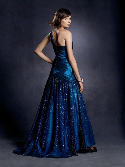e1193837f0 Twilight One Shoulder Prom Dress 4027 by Alfred Angelo  French Novelty