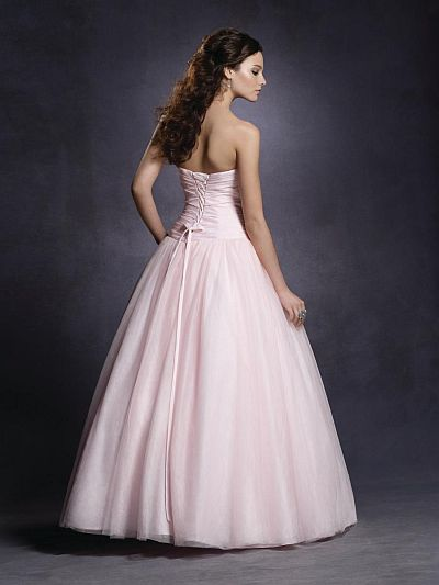 Twilight Bella Pink Swan Prom Ball Gown 4035 by Alfred Angelo ...