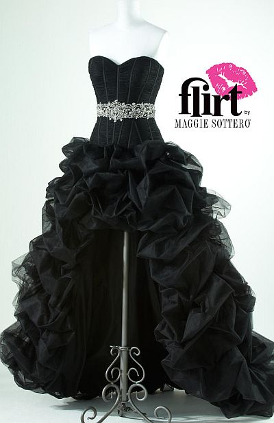 Flirt High Low Tulle Corset Prom Dress P1630 French Novelty