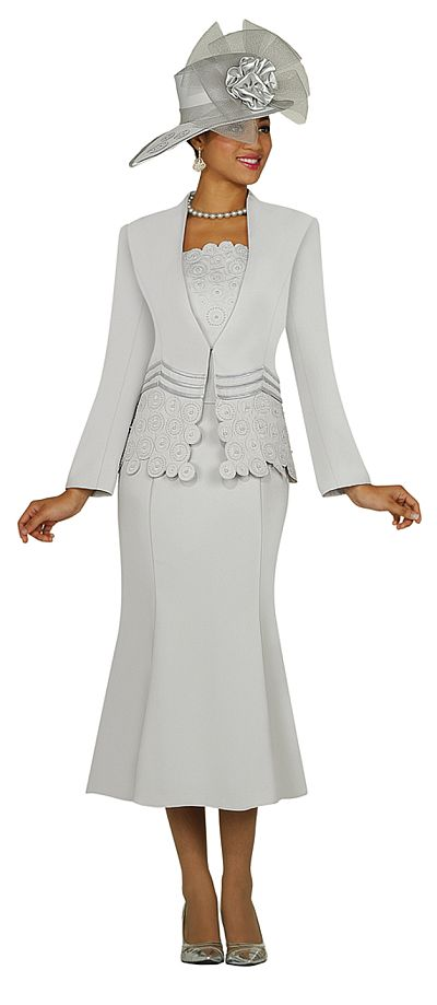 Gmi Womens Church Suit G3262 French Novelty