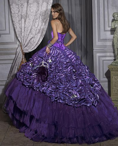 Purple Zebra Quince Dresses Pictures to Pin on Pinterest - PinsDaddy