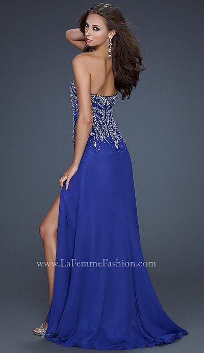 Alluring Blue Dress 97