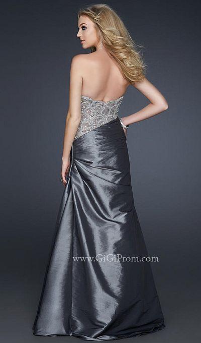Celebrity style prom dress by la femme